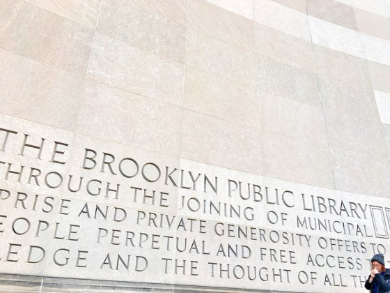 Main Entrance of the Brooklyn Public Library