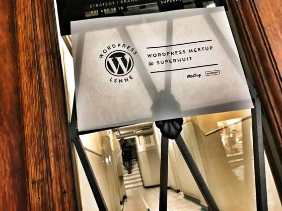 WordPress Lausanne Meetup at SuperHuit