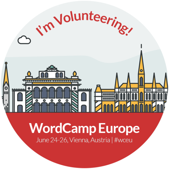 WordCamp Volunteer Badge